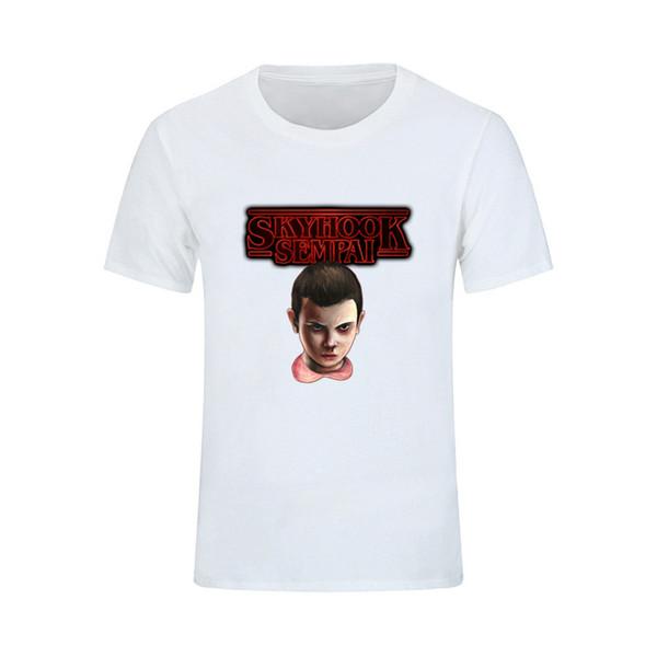 Stranger Things T Shirt Short Sleeve Funny T Shirts Summer White Casual Tshirts Cotton Men Fashion Cruel 3xl Tees Shirt Men Po