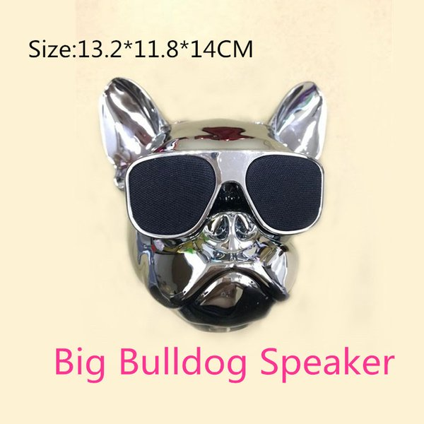 Bulldog Portable Bluetooth Speakers Wireless MP3 Palyer Dog Speaker Mini Audio Boombox for iphone xiaomi Computer Cellphone Gift