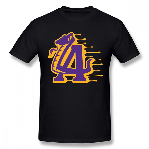 Lakers populaires T Shirt Hommes Casual Casual Pour Homme Graphic Homme Tee Shirt
