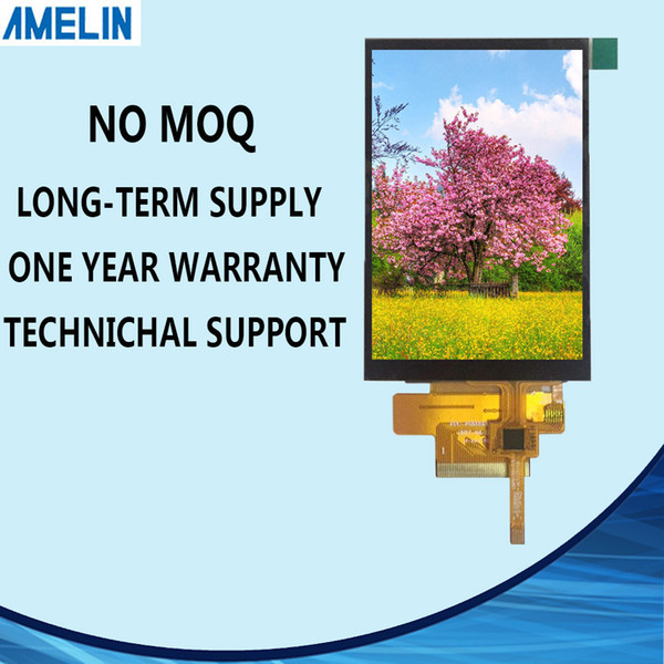 FRD350H45030 3.5 inch 320*480 TFT LCD Module Screen with RGB interface display and CTP touch panel