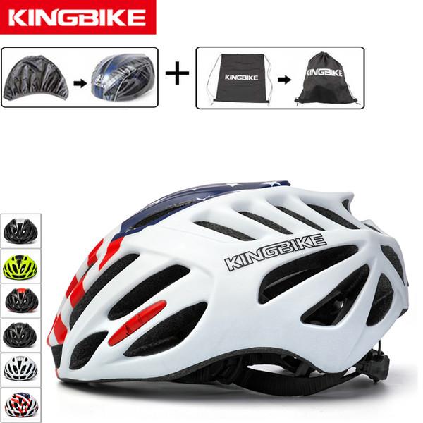 KINGBIKE Cycling Helmet Ultralight Men's Road Mountain Men Women Bike Helmets MTB Triathlon Bicycle Helmet Cycle Safety Cap