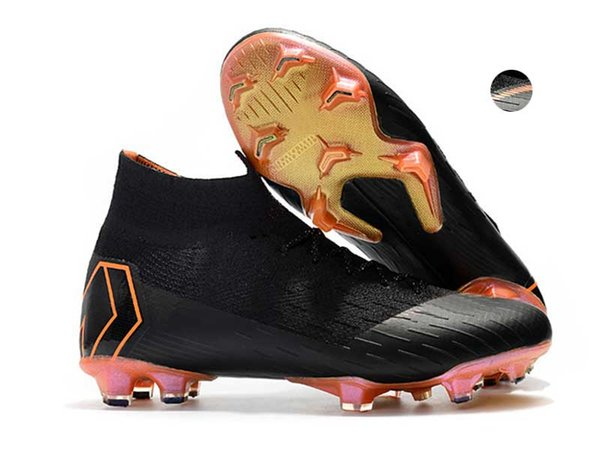 sports shoes 08ec4 37b40 New Mercurial Superfly Vi 360 Elite Fg Soccer Cleats Superflyx 6 Elite  Soccers Shoes Cristiano Sports World Cup Football Boots Sneakers Kids  Leather ...