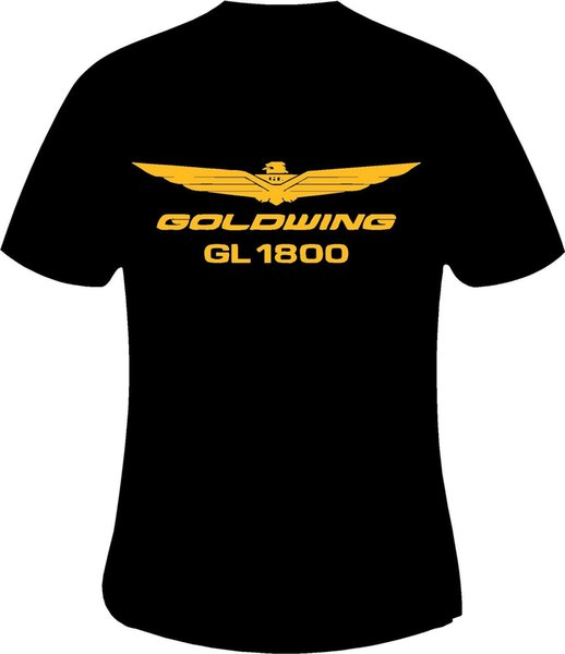 Honda Goldwing GL1800 Motocicleta camiseta impresa en 6 SizesFunny envío gratis Unisex regalo casual camiseta