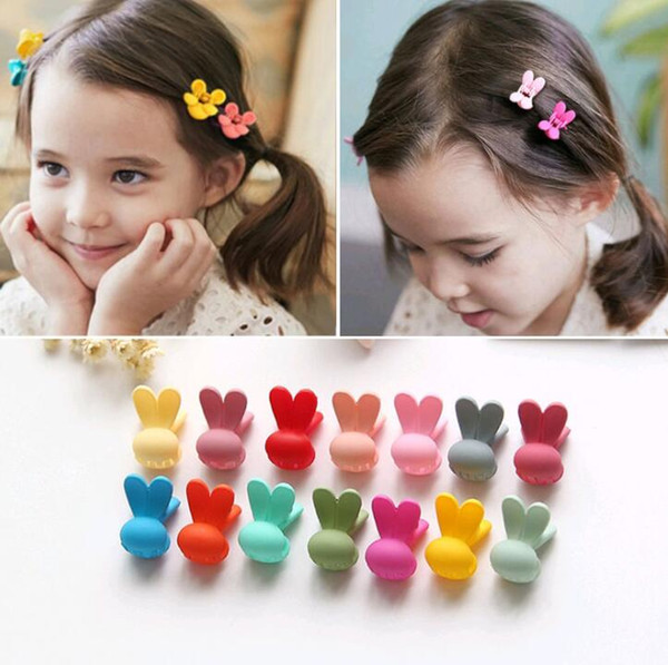 New Cute Small Cartoon Hair Claws Rabbits Hairpins Kids Hair Clip Hairgrips Headbands For Little Girls Hair Accessories