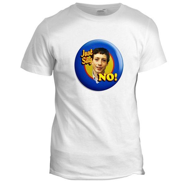 Grange Hill Zammo Say No Novelty Divertente Retro TV Movie Comedy Film T Shirt Più recenti 2018 Uomini T-Shirt Fashion Top Tee