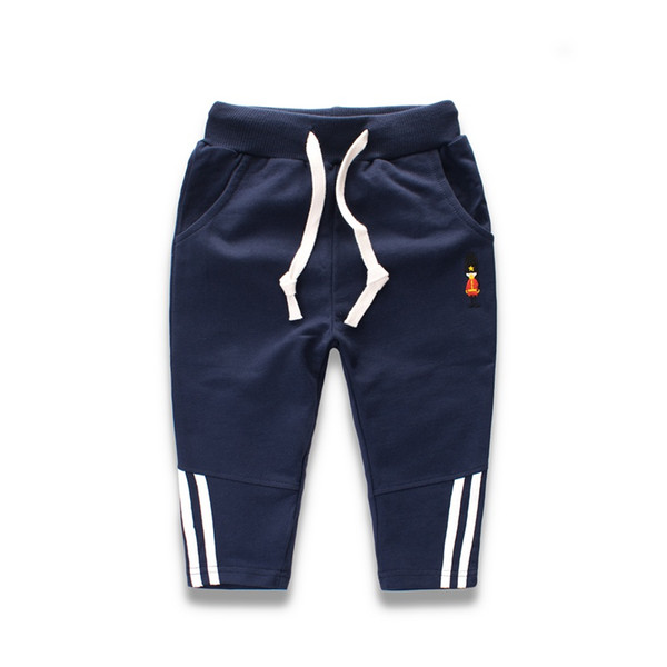 Boy Sports Pants Clothes For Kids Baby Pattern Casual Trousers Baby Car Pants Warm Autumn Winter Cotton Children\'s