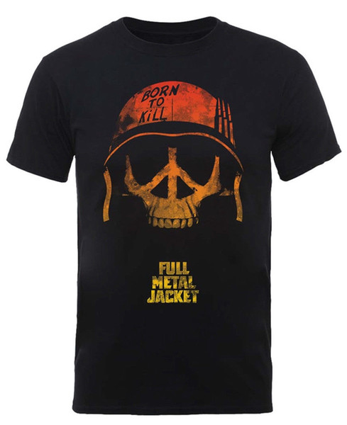Full Metal Jacket 'Skull' T-Shirt - NEW & OFFICIAL! Funny free shipping Casual tee