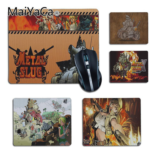 MaiYaCa New Designs Metal Slug game Office Mice Rubber Mouse Pad DIY Carpet Top Selling Customized Non-Slip Rubber mouse pad
