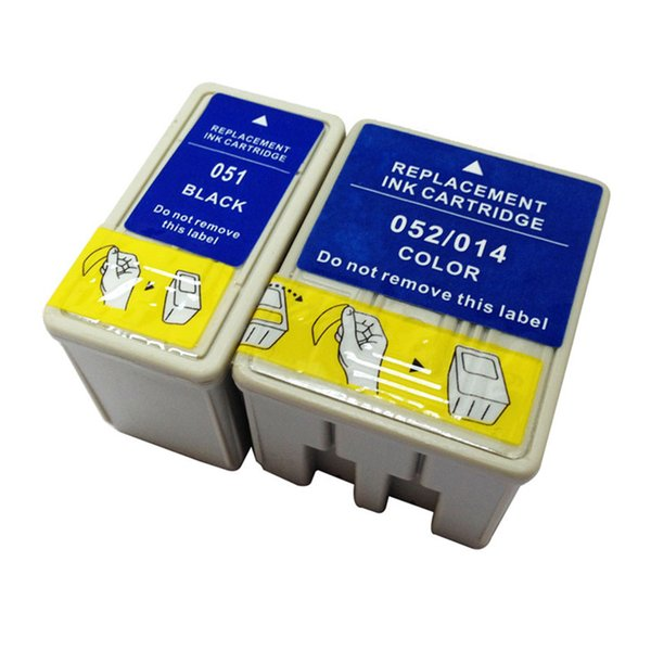 2PK T014 T052 T051 Ink Cartridge Replacement For Epson Stylus 740i 760 800 850 850N 850Ne 860 1160 1520 1520K 2500 2500 Pro