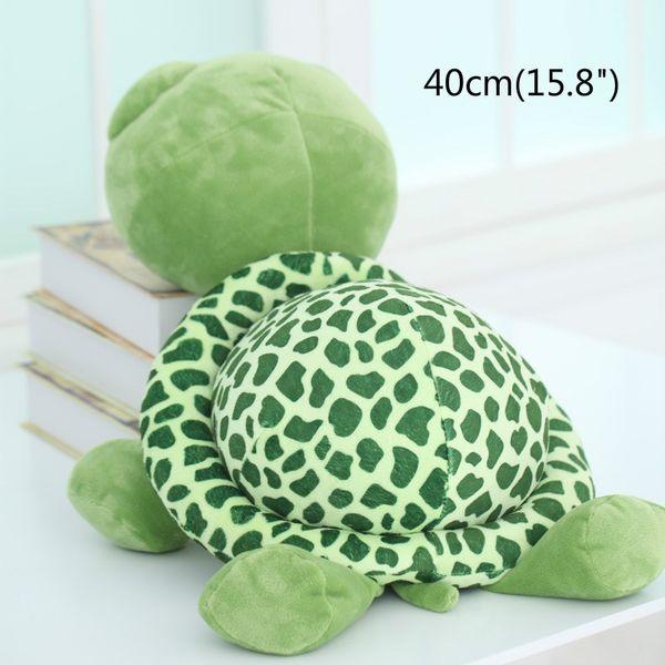"40cm(15.8"") Large Tortoise Stuffed Animals Doll Soft Plush Toy Popular Gift Giant Plush Toys Tortoise Pillow Large Realistic Stuffed"