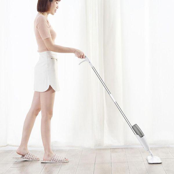Deerma Labor Saving Lightweight Water Spray Mop Wash Plate Mop Wood Floor Tile Sweeper Kitchen House Household Floor Cleaning Tool NB