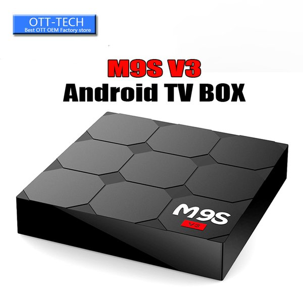 RK3229 M9S V3 android 6.0 tv boxes 4K HDR H.265 HEVC 3D play Private model 1GB 8GB WIFI Internet TV Box