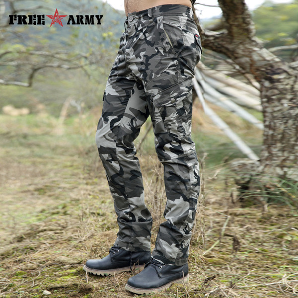 City Tactical Cargo Pants Men Combat SWAT Army Military Pants Cotton Pockets Stretch Paintball Militar Casual Camouflage Trouser Y1892801