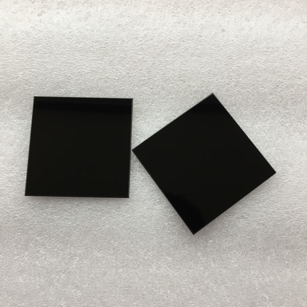top popular Multiple Size 365nm ZWB2 UG1 U-360 UV Pass Filters Ultraviolet Bandpass Optical Glass Filter Visible Light Cut Used for Flashlight 2021