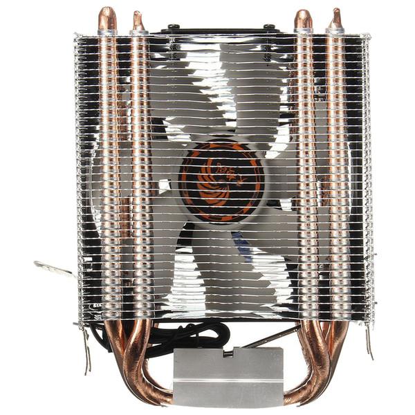 4 Heatpipe CPU Kühler Kühlkörper für Intel LGA 1150 1151 1155 775 1156 (für AMD) Neu