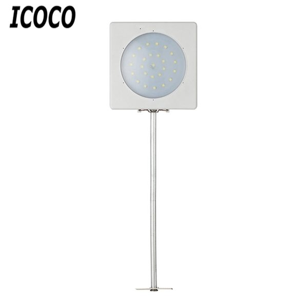 ICOCO 25 LEDS Solar Wall lamp Outdoor Light Sensor Control IP65 Waterproof Induction Lamps Street Yard Path Garden Balcony Lamp