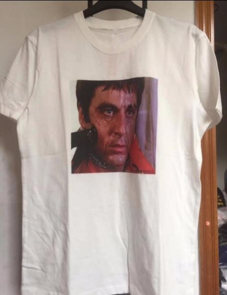 2fc358d8f9328 Scarface T-shirt Das Mulheres Dos Homens 1  A1 de Alta Qualidade Moda  Scarface