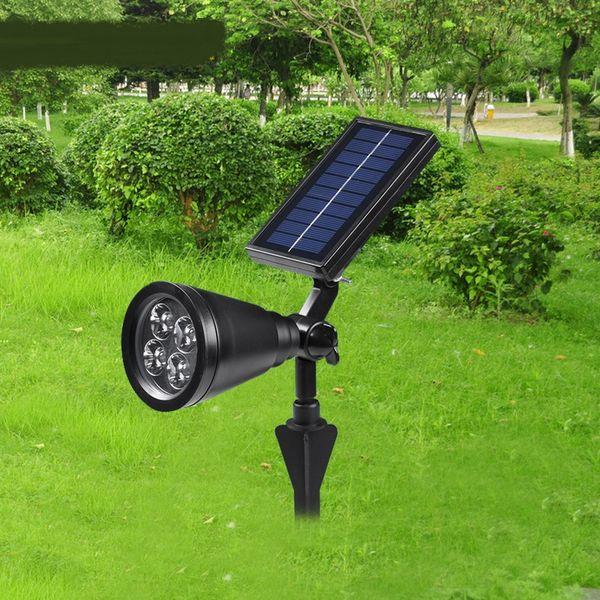 Outdoor LED Lampe Solar Rasen Stecker Scheinwerfer Haus Baum Lampe Gartendekorationen Beleuchtung Landschaft LED Lampen ZAG
