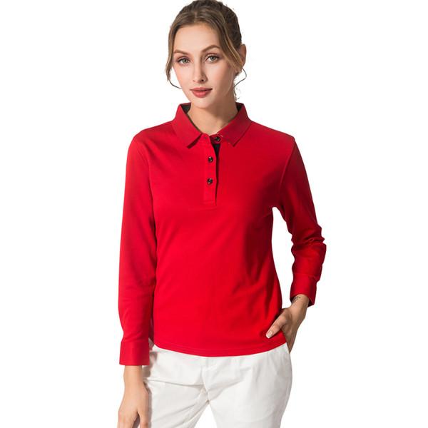 New Golf Shirts Men Women Cotton long Sleeve Sport Polo Shirt Jersey JL Autumn ropa de golf para hombre Ladies Sports T Shirt