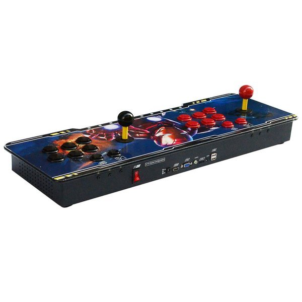 The Pandora 7S Can Store 2167 in 1 home 2 players Arcade Plastic Console with game board HDMI VGA USB Output to TV