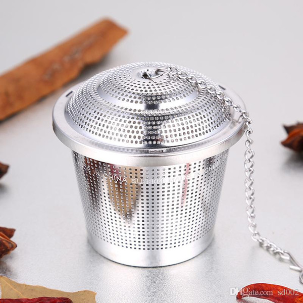 304 Stainless Steel Tea Filter Infuser Exquisite 3 Sizes Stew Soup Mesh Spice Ball Hot Sale 18 9ss3 dd