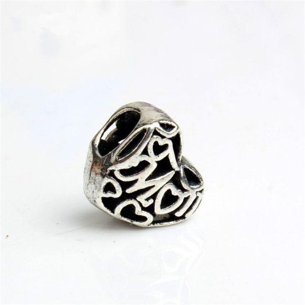 Love To Mum Alloy Charm Bead Best Friend Fashion Women Jewelry Stunning Design European Style For DIY Bracelet Necklace