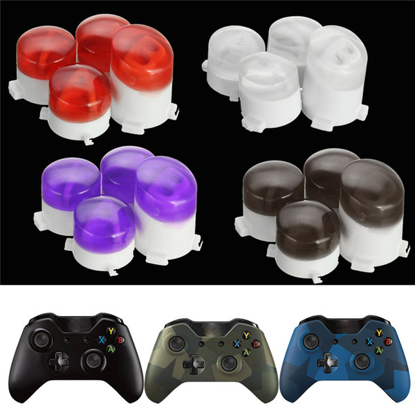 Custom Bullet ABXY Key Replacement Button Buttons Mod Kit for Microsoft Xbox One Wireless Controller Mod Buttons High Quality FAST SHIP