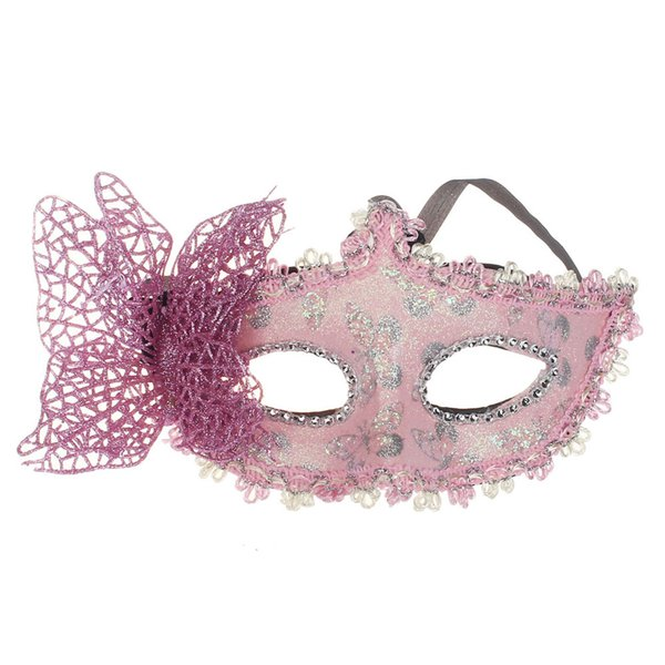 Fashion 2018 Sexy Butterfly Ball Mask Mask for Girls Women Masquerade Dancing Party Beautiful half face Mask Hot Sale
