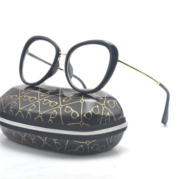 Compre Gafas De Mujer De Moda Marcos Diseñador De La Marca Gafas De ...