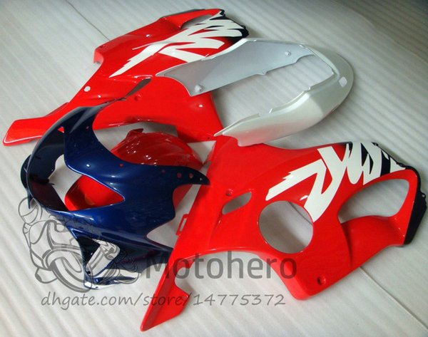 Injection molding Free Gifts Bodywork For HONDA CBR600 F4 1999 2000 CBR 600F4 99 00 Ren Blue J33 CBR 600 F4 99-00 FS Fairing Kit