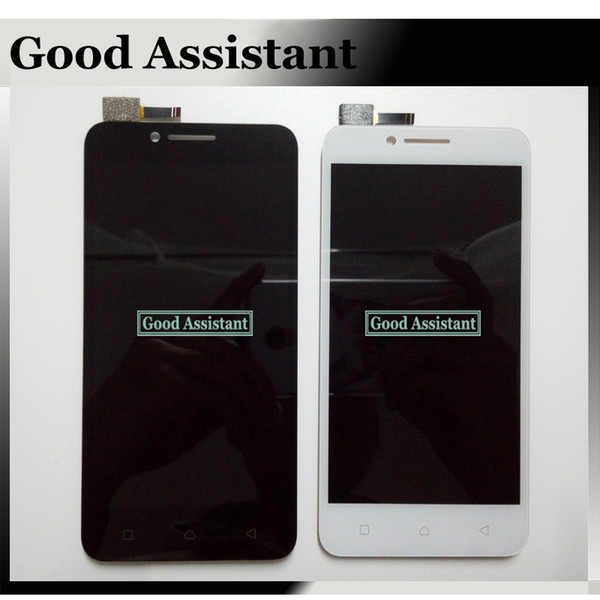 Black/White LCD+TP for Lenovo Vibe C A2020 A2020a40 LCD Display+Touch Screen Digitizer Assembly Replace Part Free Shipping