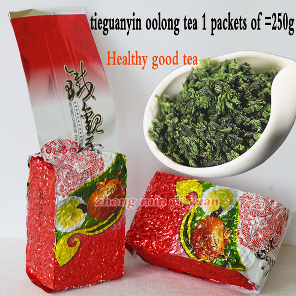 250g grade chinese oolong tea , tieguanyin tea new organic natural health care products gift tie guan yin tea