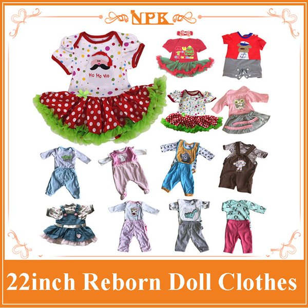 Good Price 22Inch Reborn Baby Doll Clothes For 55cm Silicone Reborn Baby Doll Hot Sell Accessory For Lifelike