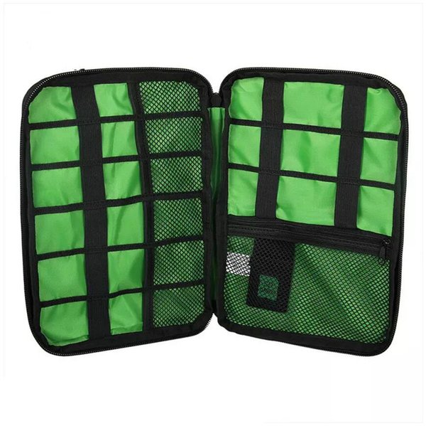 Waterproof Electronic Accessories Storage Bag Carry Protection Pouch Organiser for Headphone Cable U Disk HDD SD Card