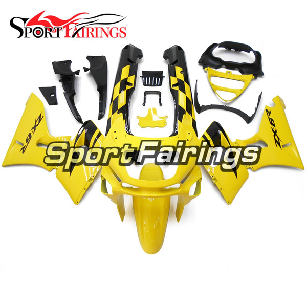 New Yellow Black Fairings For Kawasaki ZZR-400 Year 1993 - 2007 Plastic Complete ABS Injection ZZR-400 1993 - 2007 Motorcycle Cowlings