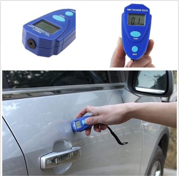 top popular Paint Coating Thickness Gauge Tester Car Mini Painting Thickness Tester Paint Meter Digital LCD Coating Measure Tool 2019