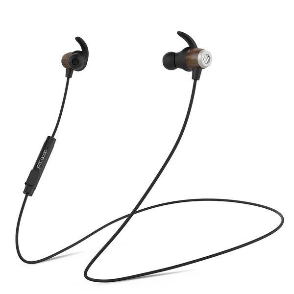 Wireless Bluetooth Earphones Headphone 6.0Stereo In Ear Headset Neckband Sport Running Earphone Microphone For Iphone Smartphones Computer