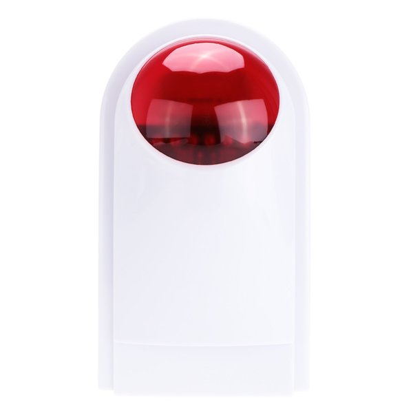 Indoor Outdoor 433 Wireless Flashing Siren Strobe Light Siren For Smart Home Alarm Security System