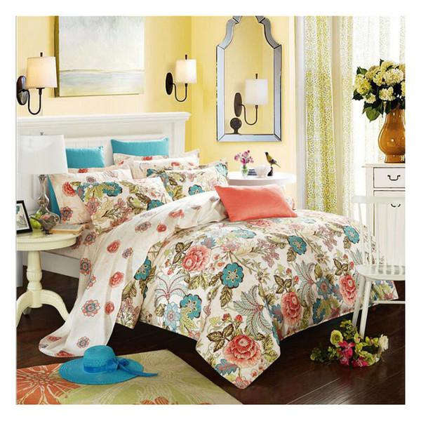 Simple DUVET COVER SET bed skirt Pillow Case LUXURY QUILT SETS DUVETS COVERS SINGLE DOUBLE SUPER Queen King Size Bed Set