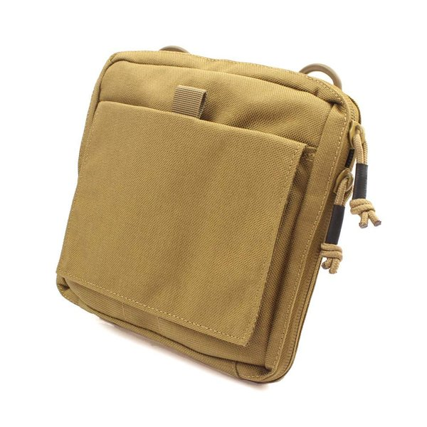 ROCOTACTICAL Molle Tactical Utility Organizer Pouch Tactical EDC Tool Bag First Aid Organizer Stealth Admin Pouch