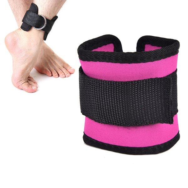 D-ring Ankle Anchor Strap Belt Multi Gym Cable Attachment Thigh Leg Pulley Strap Lifting Fitness Exercise Training Equipment