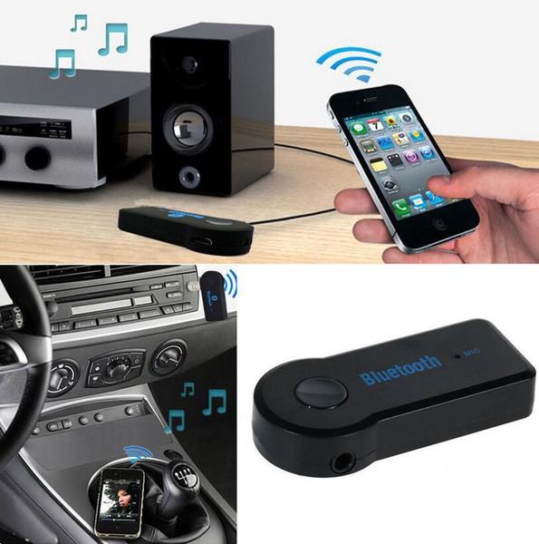 Adaptador Sem Fio Bluetooth Car Receptor 3.5mm Aux Stereo USB Sem Fio Mini Receptor Adaptador de Carro de Música de Áudio Bluetooth
