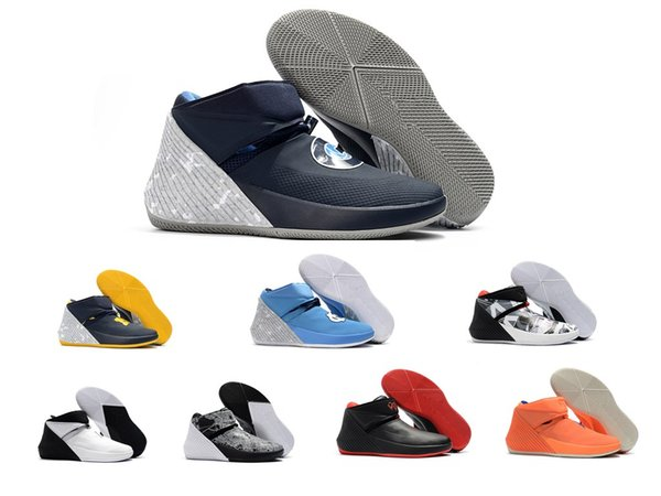 Jordan Why Not Zer0.1 Chaussures de basket-ball pas cher Pourquoi pas Russell Westbrook Zero 1 1s I Hommes Blanc UNC PE Traitement Masters Hommes Chine Sport Basket Sneakers chaussure
