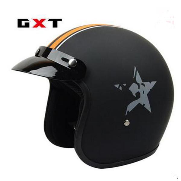 Motorcycle helmet open face 3/4 retro helmet Motorcycle Half Vintage Helmets M L XL XXL