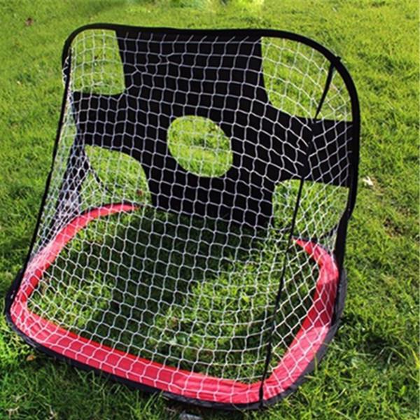 Niños Pop-Up Fútbol / Fútbol Toy Gate Boys 210D Oxford Puerta genérica Fútbol Fútbol Objetivos Pop Up Net Tent Niños Juguete de juego al aire libre