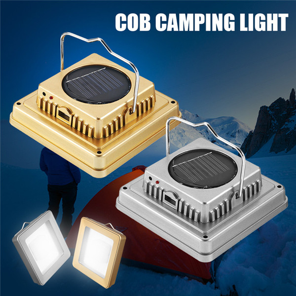 Smuxi Solar COB Outdoor Emergency Camping Tent Light Lamp Portable USB Rechargeable Hanging Lamp Lantern For Hiking