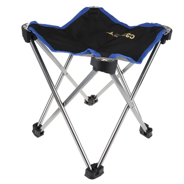 Outdoor Camping Selpa Portable Folding Chair Super Light Aluminum Alloy Fishing Camping Bench Garden Chairs For Picnic Free Shipping VB