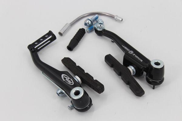 Una ruota a due mini V freno BMX bici da strada MTB mountain bike V freno a pinza AVID SD3 parti di ricambio per bici da bicicletta