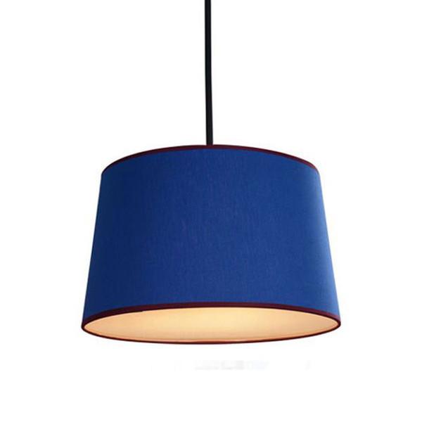 Nordic Simplicity Fabric Bedroom Pendant Lamp Mediterranean Kids Room Hanging Lamps Restaurant Study Room Pendant Light