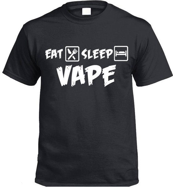 Eat Sleep VAPE T-Shirt Gift Present vaping vapers smoke
